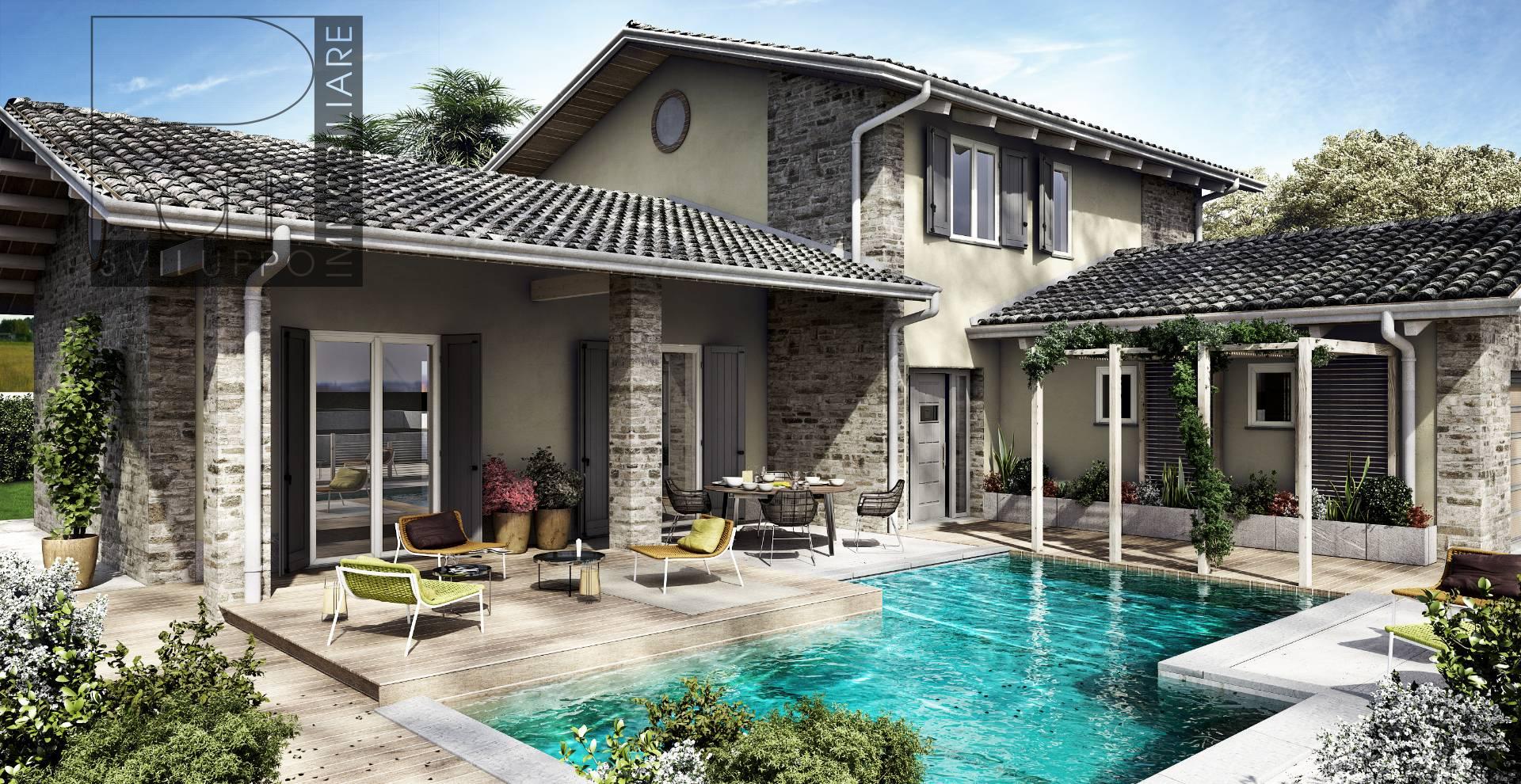 Villa in vendita a spino d 39 adda cod cc 2 villa one for Mercatone dell arredamento spino d adda