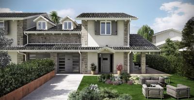 Villa Bifamiliare in Vendita a Spino d'Adda
