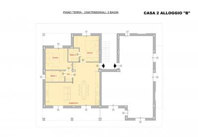 Portion of villa for Sale in Cervo Ref  CE-AR-2B