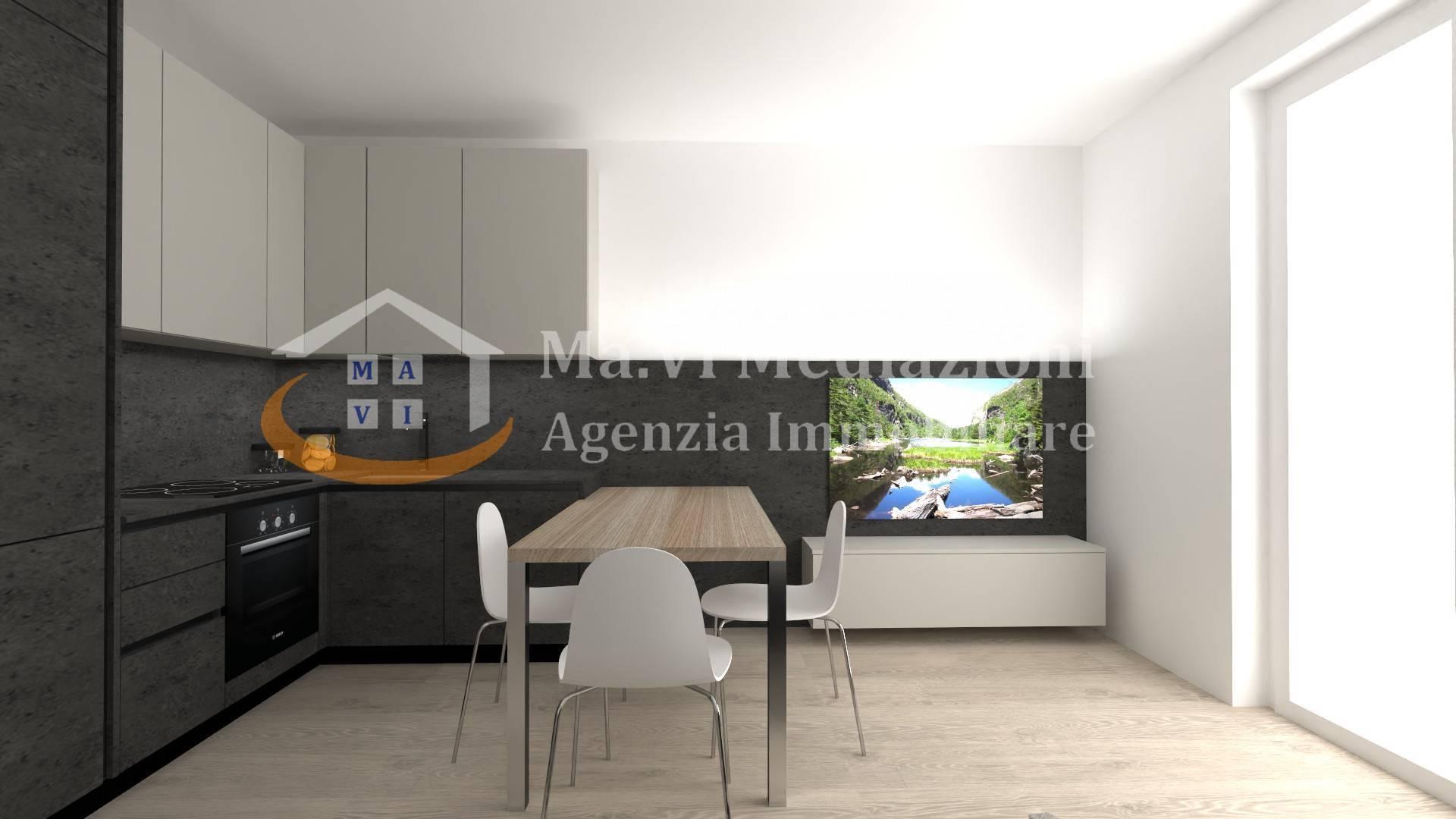 Appartamento in vendita a Nago-Torbole, 3 locali, zona Zona: Nago, prezzo € 159.000   CambioCasa.it