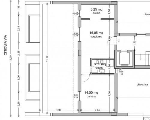 attico con terrazzo in Vendita a Trapani