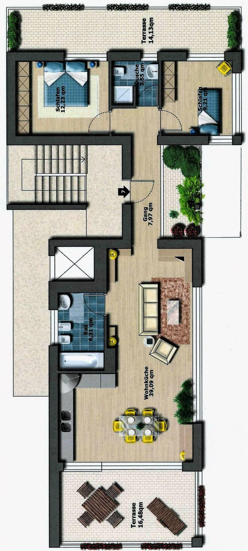 Attico - Penthouse in Vendita a Brunico - Bruneck Cod. BK1012