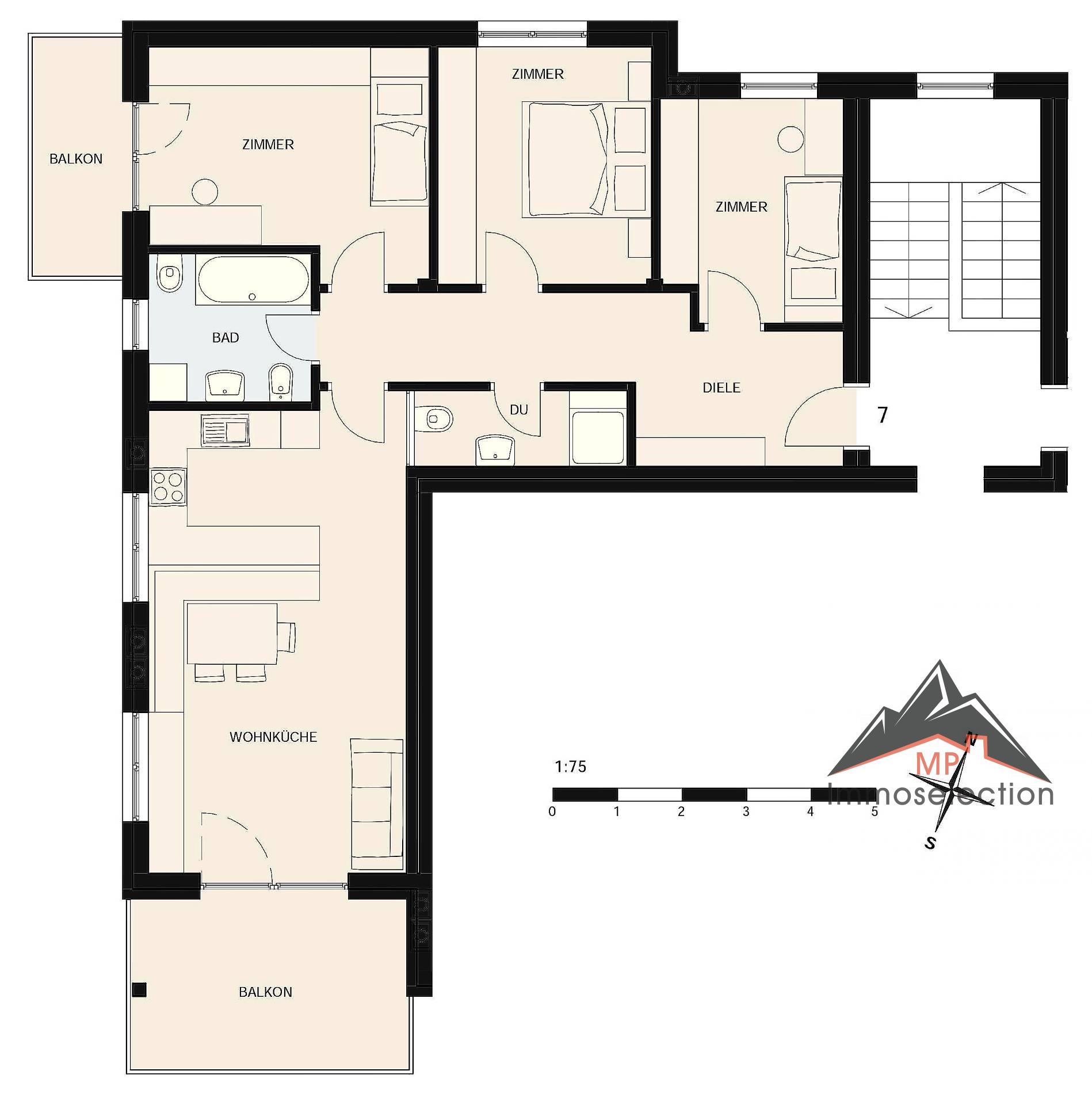 Appartamento in vendita a Chienes, 4 locali, zona Zona: Casteldarne, prezzo € 310.000 | CambioCasa.it