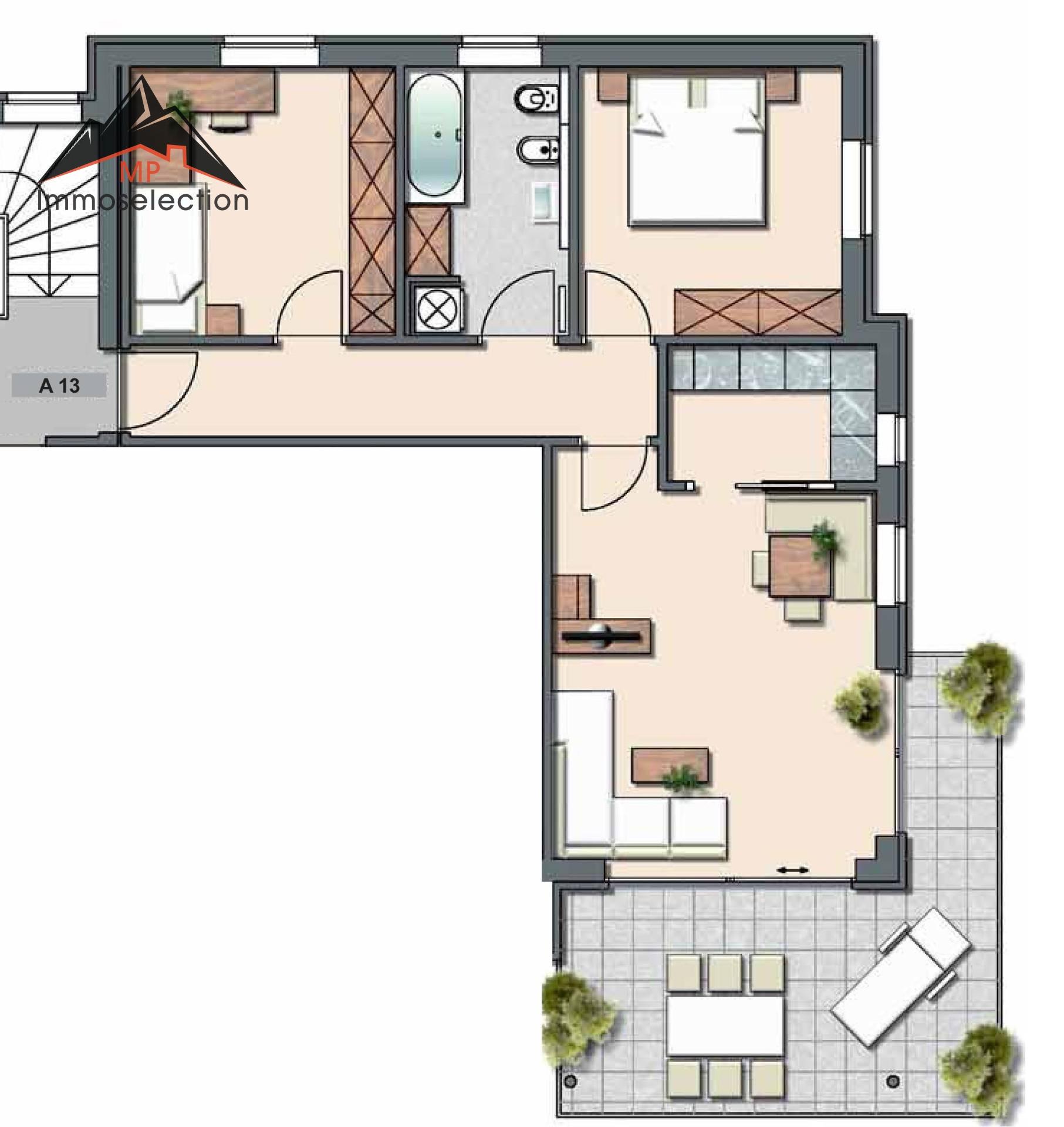 Appartamento in Vendita a Brunico - Bruneck Cod. BK1067-A13