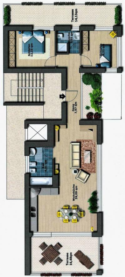 Mansarde - Penthouse zu verkaufen in Brunico - Bruneck