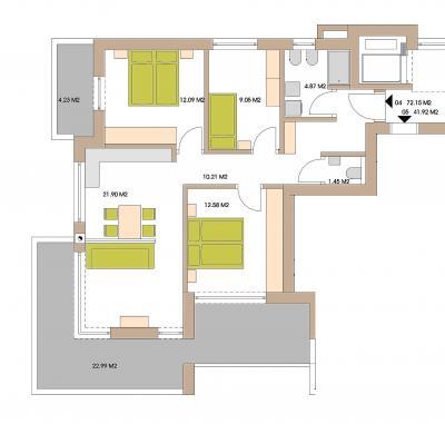 Appartamento in Vendita a Chienes - Kiens