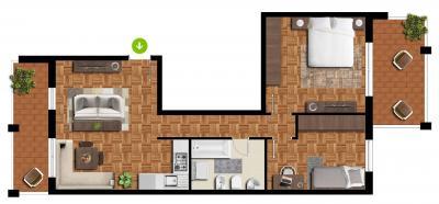 Wohnung zu verkaufen in Marebbe - Enneberg