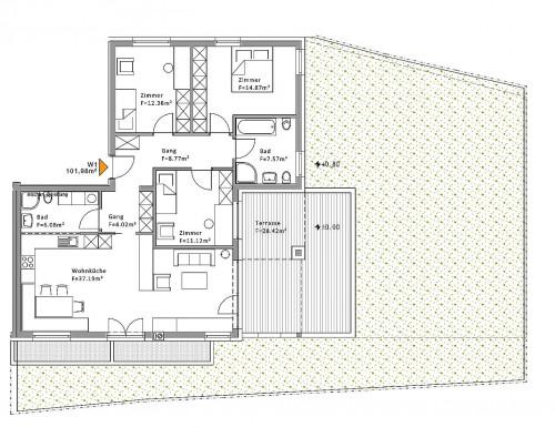 Wohnung zu Verkauf in Rasun Anterselva - Rasen-Antholz