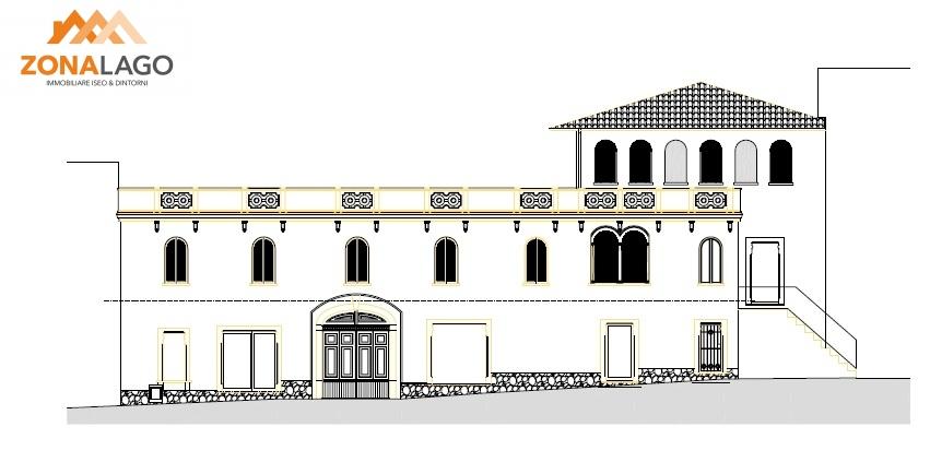 Palazzo / Stabile in vendita a Sale Marasino, 18 locali, prezzo € 350.000   PortaleAgenzieImmobiliari.it