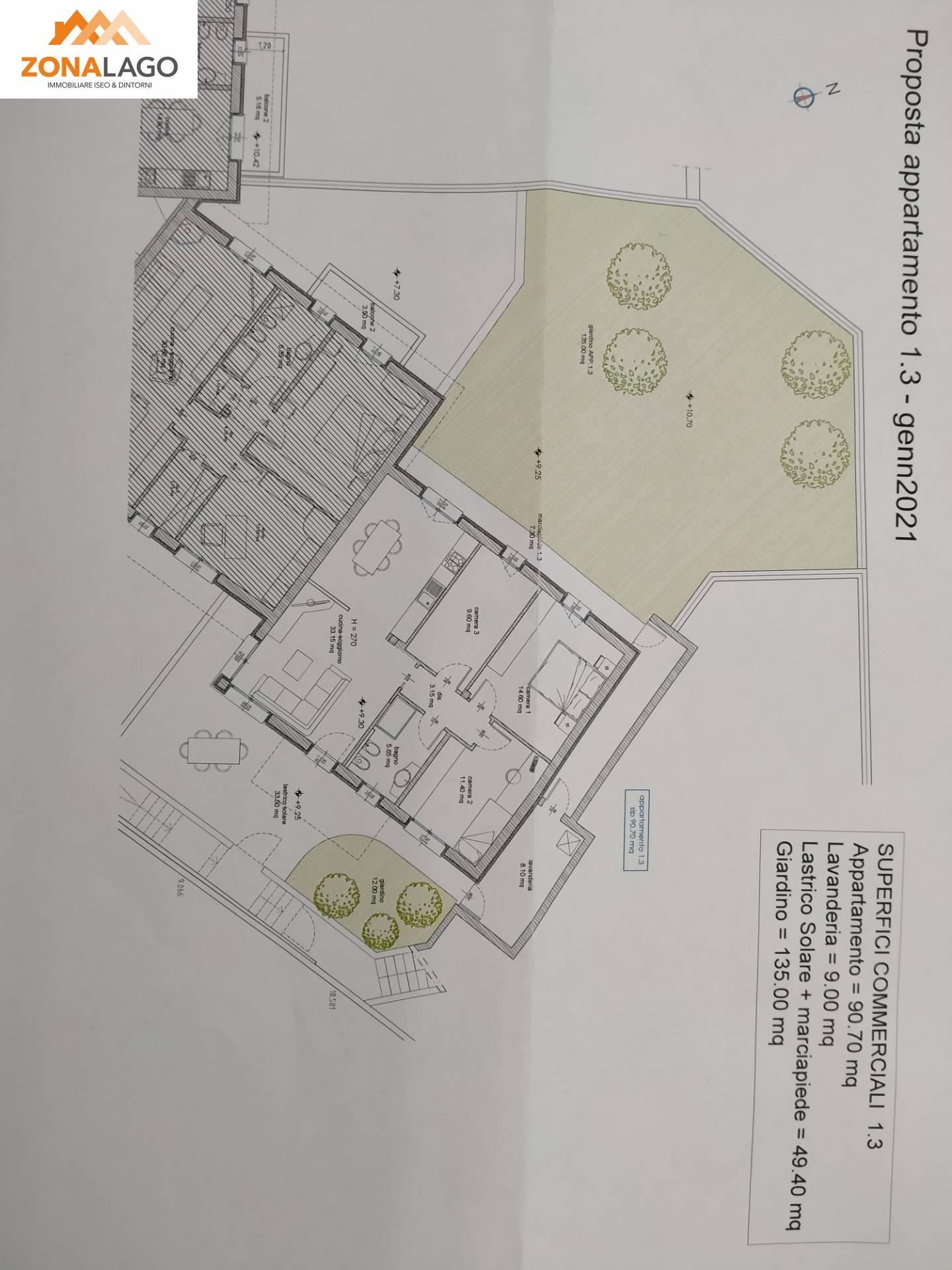 Appartamento in vendita a Pisogne (BS)