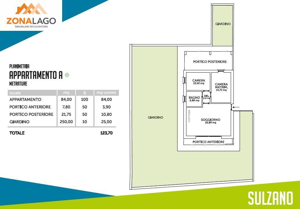 Appartamento in vendita a Sulzano, 3 locali, prezzo € 259.000 | PortaleAgenzieImmobiliari.it