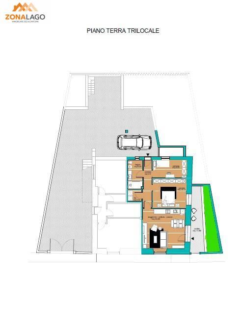 Appartamento in vendita a Sale Marasino, 3 locali, prezzo € 145.000 | PortaleAgenzieImmobiliari.it