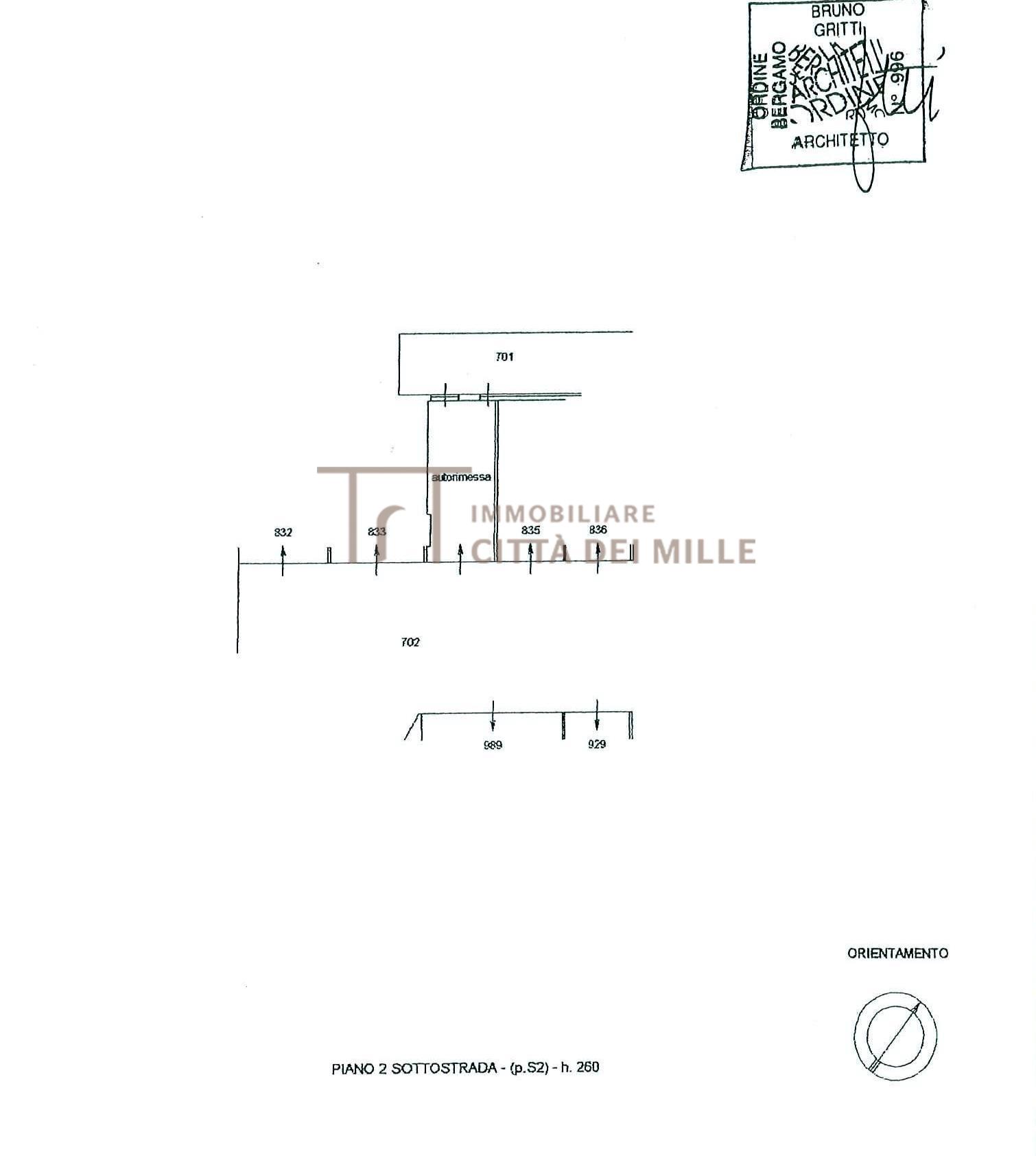 Box auto - Posto auto BERGAMO vendita  Redona  Immobiliare Città dei Mille