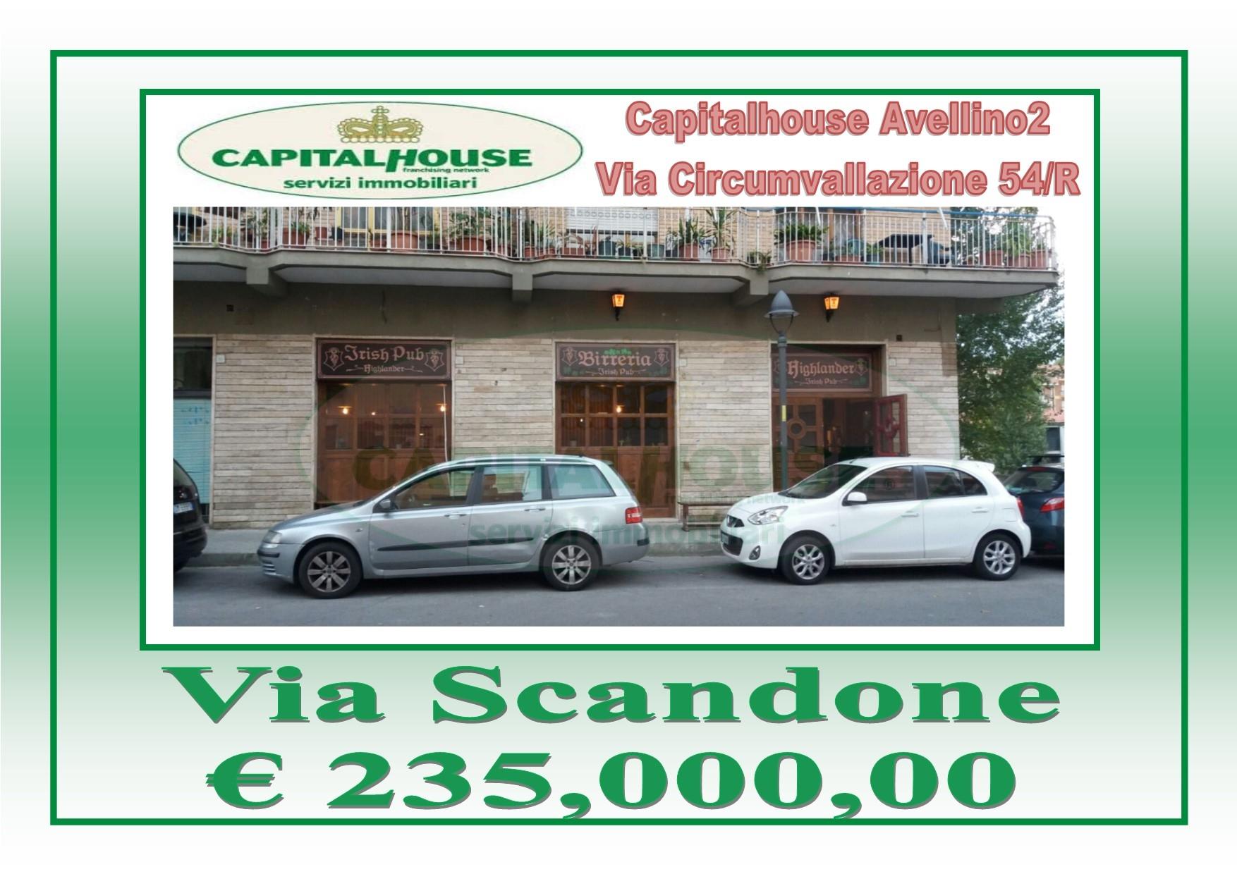 Negozio / Locale in vendita a Avellino, 9999 locali, zona Località: ViaScandone, prezzo € 235.000 | Cambio Casa.it