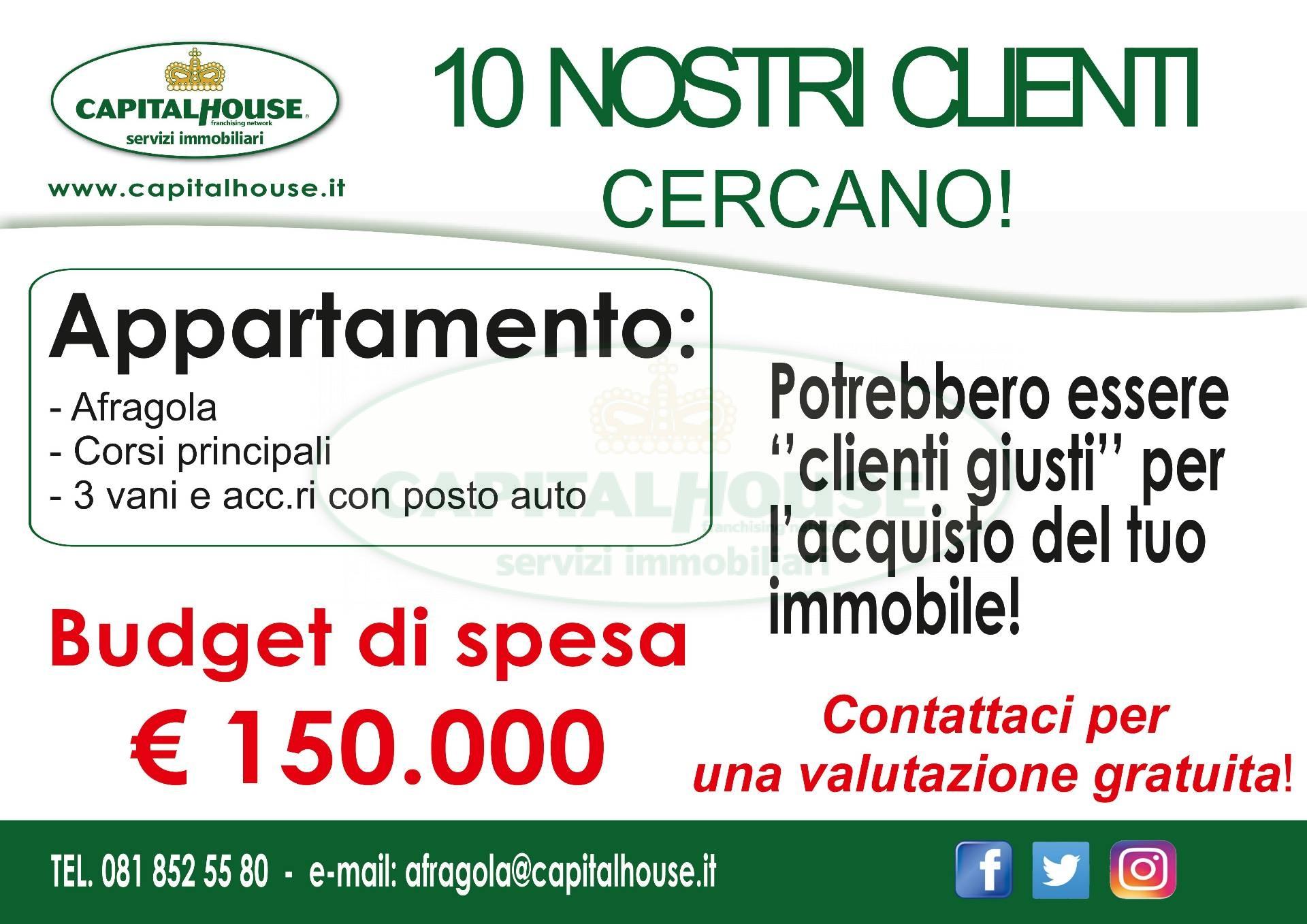 Appartamento in vendita a Afragola, 3 locali, zona Località: ZonaAmendola, prezzo € 150.000 | CambioCasa.it