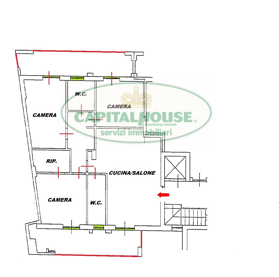 venditaappartamento caserta tredici  210000 euro  4 locali  120 mq