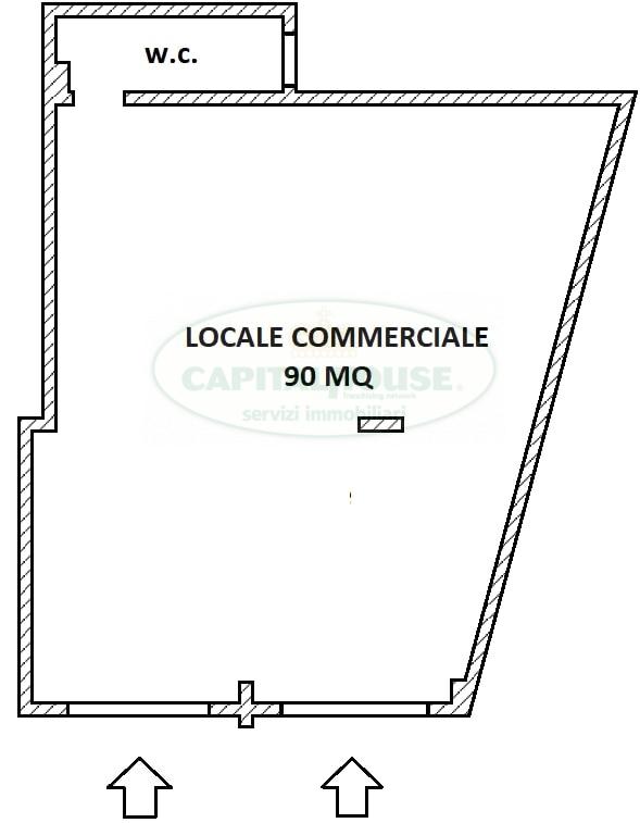 Negozio / Locale in vendita a Santa Maria Capua Vetere, 9999 locali, zona Località: ZonaVilla, prezzo € 115.000 | CambioCasa.it