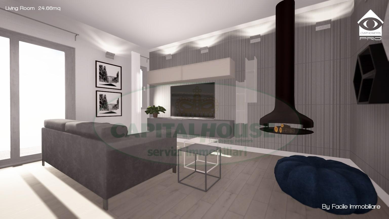 Appartamento in vendita a Capua, 3 locali, prezzo € 99.000 | CambioCasa.it