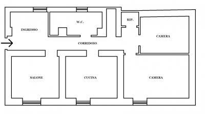 Vai alla scheda: Appartamento Vendita - San Prisco (CE) | Zona Centrale - Rif. 55sp