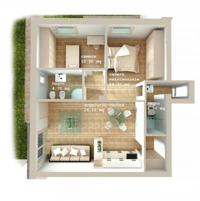 Vai alla scheda: Appartamento Vendita - Certaldo (FI) | Fiano - Rif. 8340
