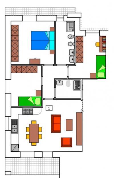 Vai alla scheda: Appartamento Vendita - Certaldo (FI) - Rif. 8749