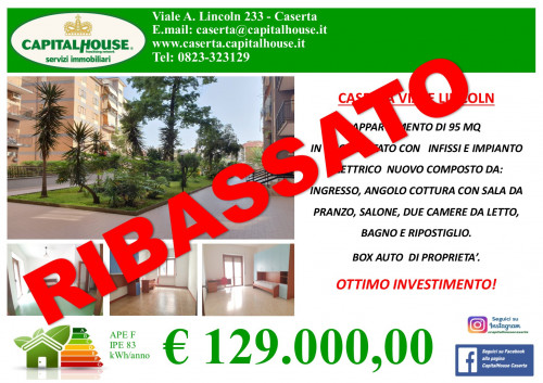 Vai alla scheda: Appartamento Vendita - Caserta (CE)   Lincoln - Rif. 129L