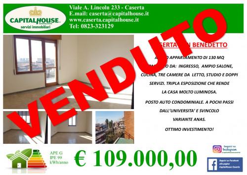 Vai alla scheda: Appartamento Vendita - Caserta (CE)   San Benedetto - Rif. 109SA