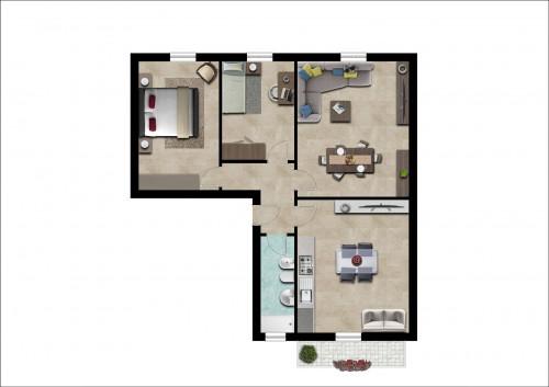 Vai alla scheda: Appartamento Vendita - Certaldo (FI) - Rif. 8506