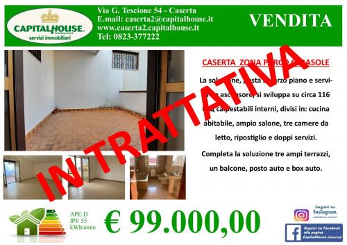 Vai alla scheda: Appartamento Vendita - Caserta (CE) | Caserta 2 (Cerasola) - Rif. 99VD