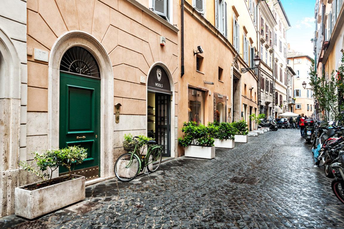 Bilocale affitto roma via del governo vecchio for Occasione affitto roma