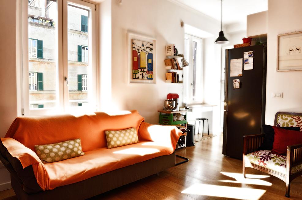 Cbi070 ex674 appartamento in vendita a roma bologna for Appartamento new design roma lorenz