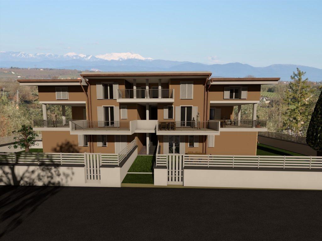 Appartamento in vendita a Vitorchiano, 4 locali, zona Località: Paparano-Sodarella, prezzo € 92.000 | CambioCasa.it
