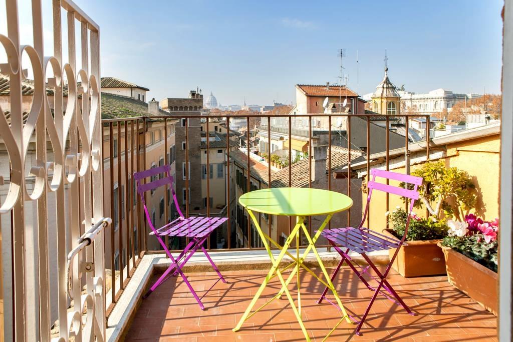 Cbi072 ex961 attico in vendita a roma centro storico for Vendita appartamenti centro storico roma