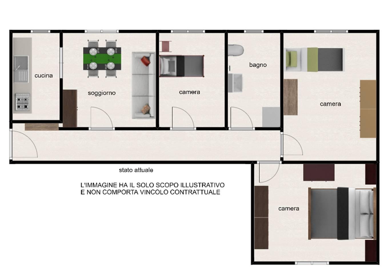 Appartamento, 85 Mq, Vendita - Viterbo (Viterbo)