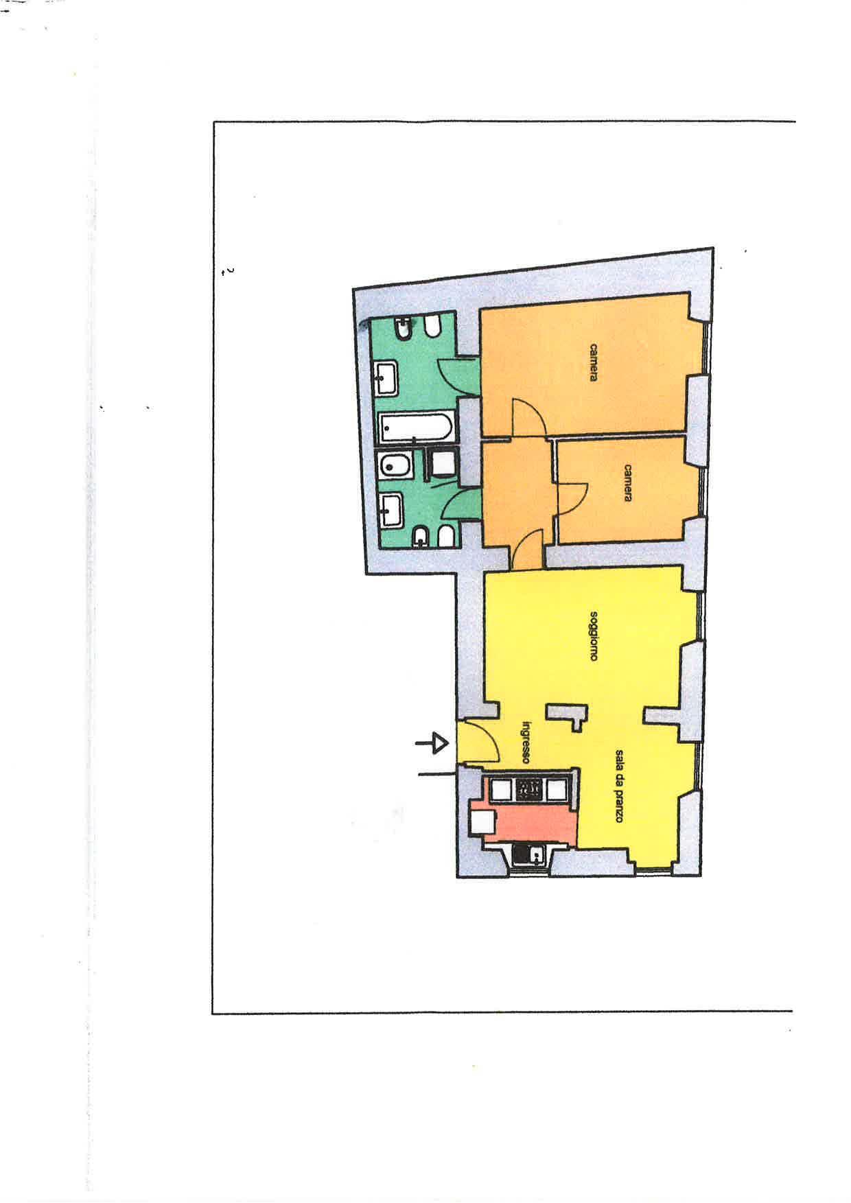 Cbi072 ex1284 appartamento in affitto a roma centro for Locali commerciali in affitto roma centro