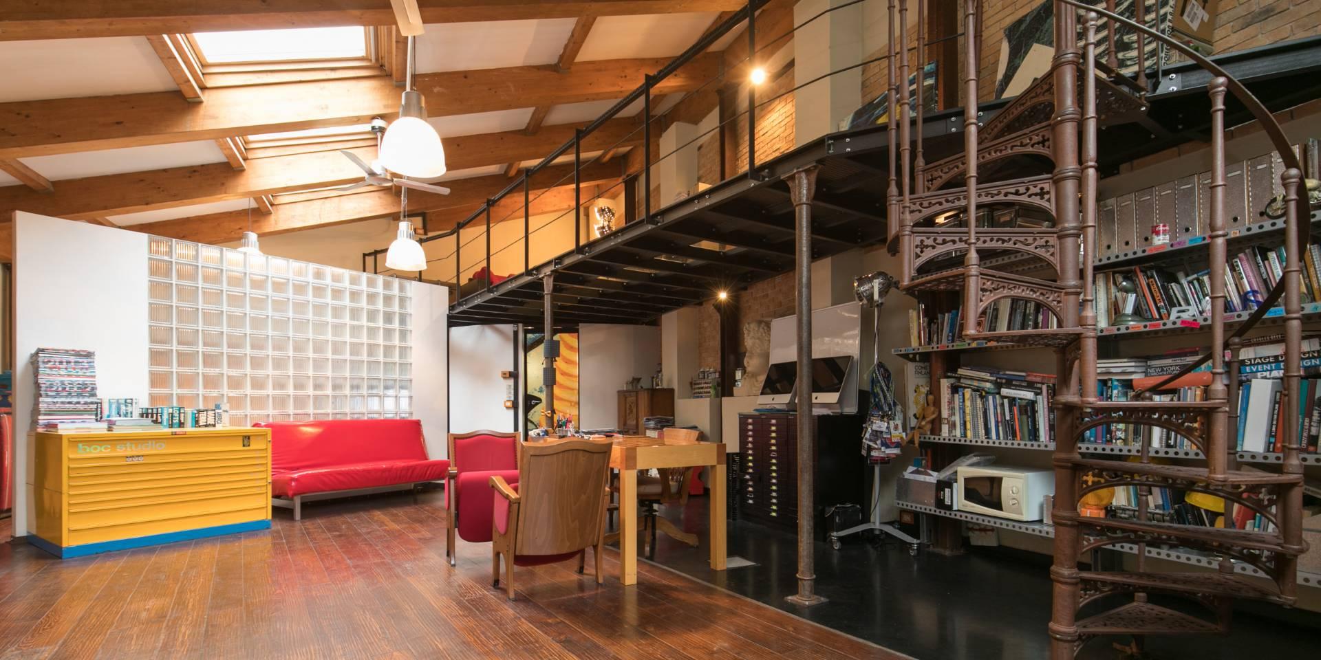 Cbi082 394 rmdm01 loft open space in vendita a roma for Loft affitto roma