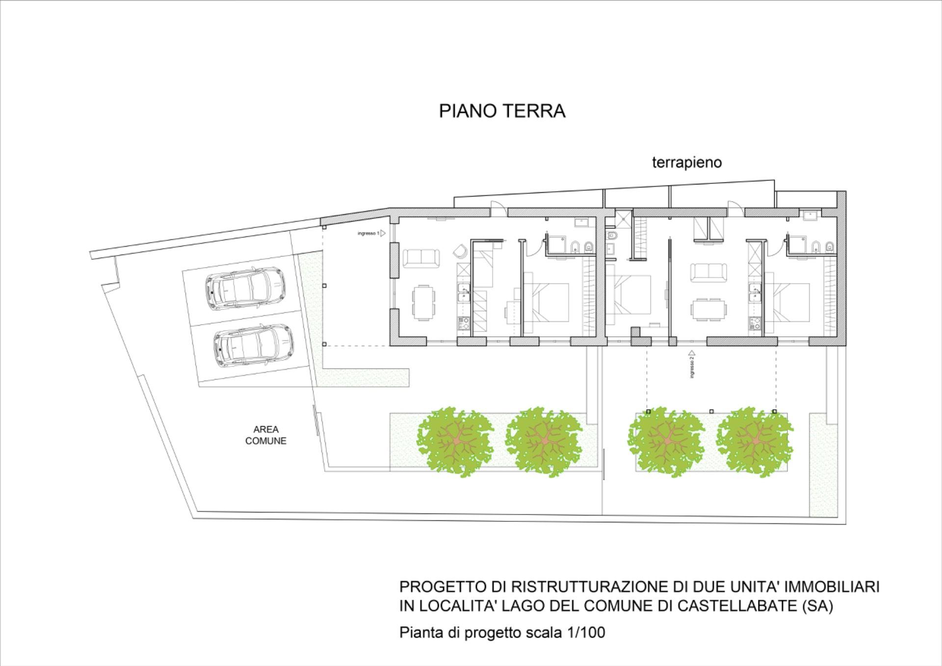 Appartamento in vendita a Castellabate, 3 locali, zona Zona: Lago, prezzo € 225.000 | CambioCasa.it