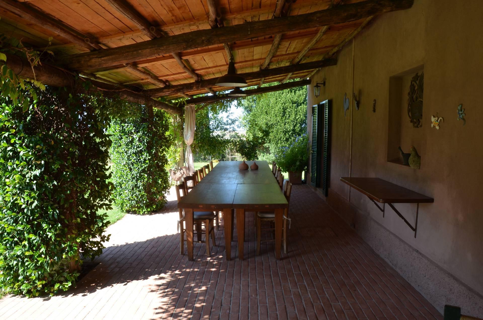 A Magliano in Toscana in Affitto Villa