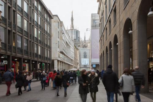Vai alla scheda: Ufficio Affitto - Milano (MI) | Duomo / S.Babila - MLS CBI084-1015-ufficio Duomo 230mq