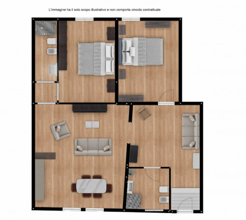 Vai alla scheda: Appartamento Vendita - Viterbo (VT) | Centro - MLS CBI006-11-Sim4