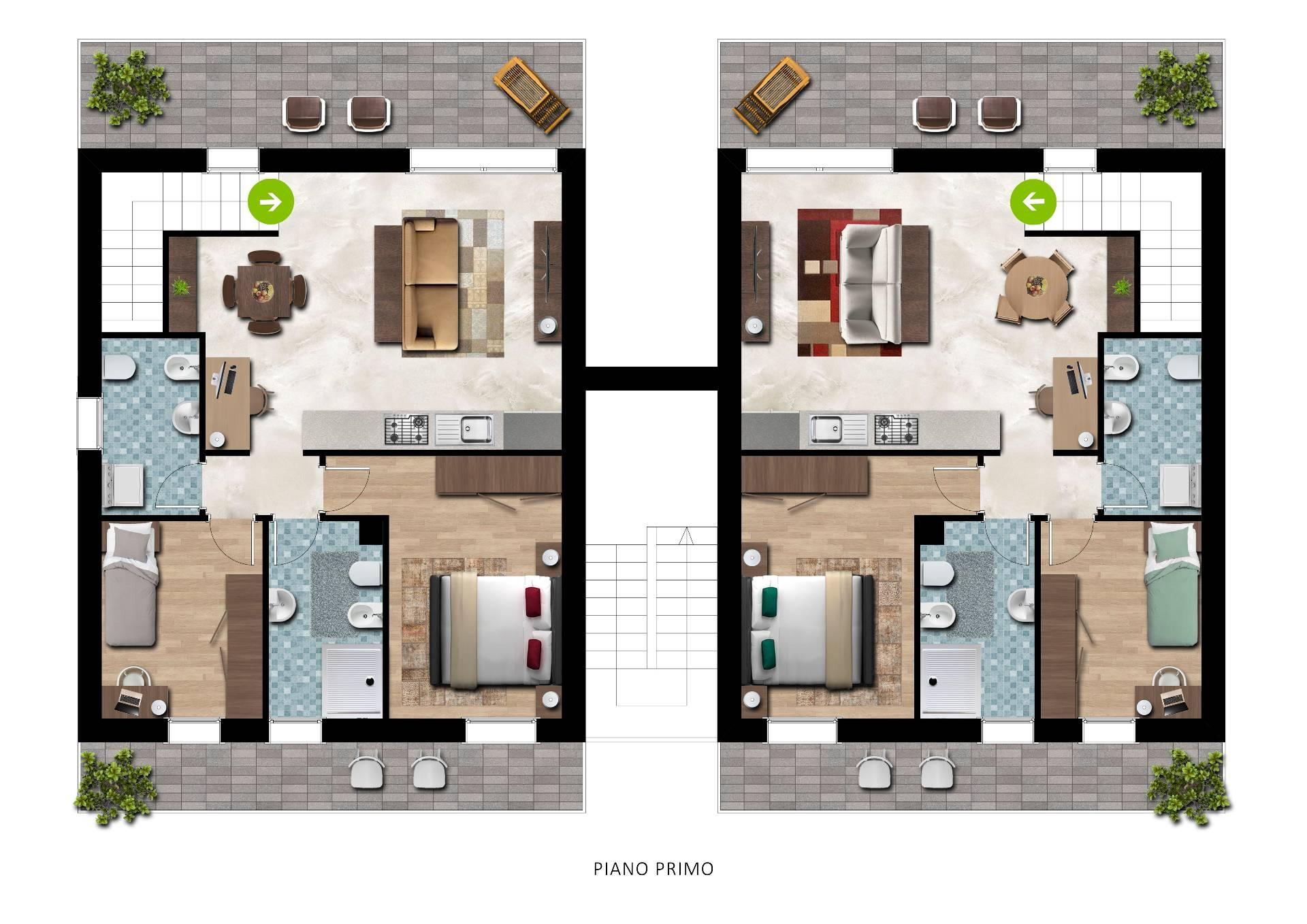 vendita appartamento casale sul sile   200000 euro  5 locali  125 mq