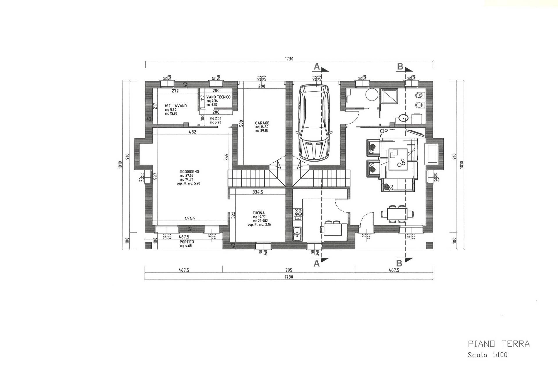 Villa Bifamiliare in vendita a San Biagio di Callalta, 8 locali, zona Località: Olmi, prezzo € 320.000   CambioCasa.it
