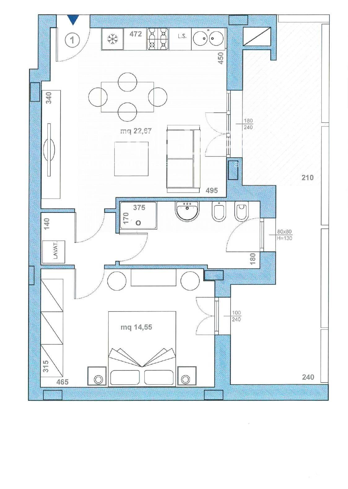Appartamento in vendita a Paese, 2 locali, zona rnello, prezzo € 131.000 | PortaleAgenzieImmobiliari.it