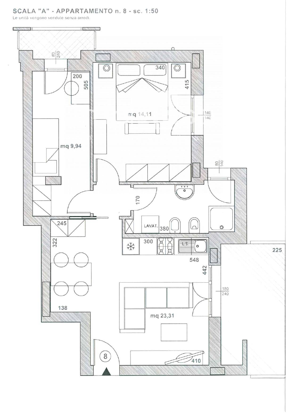 Appartamento in vendita a Paese, 3 locali, zona Zona: Padernello, prezzo € 148.480   CambioCasa.it