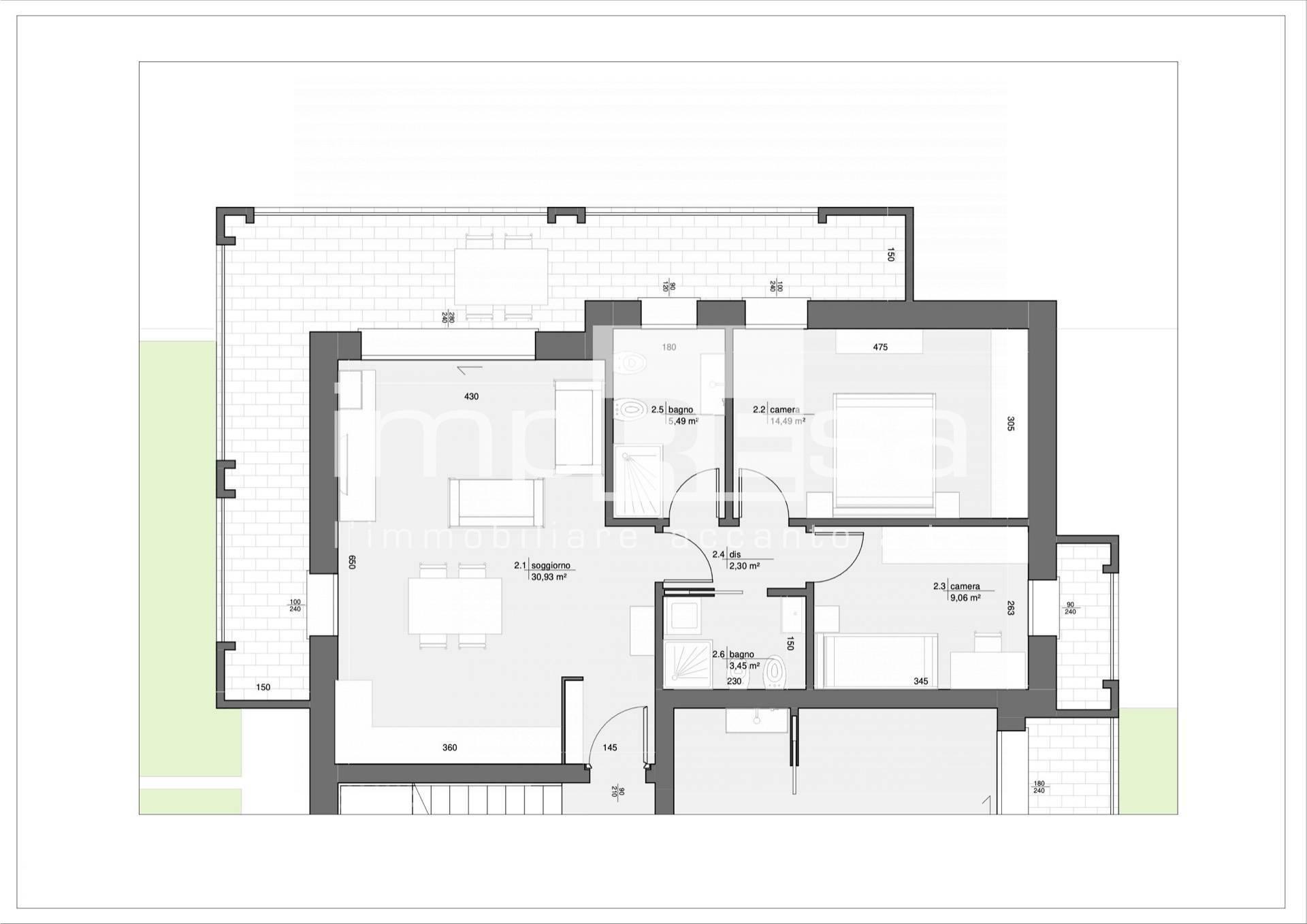 Appartamento in vendita a Treviso, 5 locali, zona Località: S.MariadelRovere, prezzo € 350.000   PortaleAgenzieImmobiliari.it
