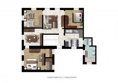 Vai alla scheda: Appartamento Vendita - Genova (GE) | Centro Storico - Codice VAD227
