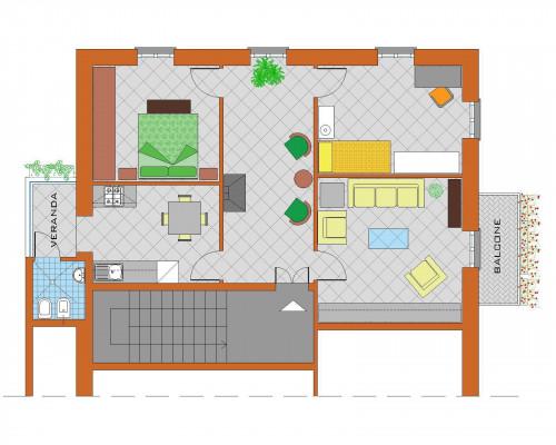 Appartamento in Affitto a Stella