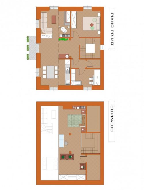 Appartamento in Affitto a Pontinvrea