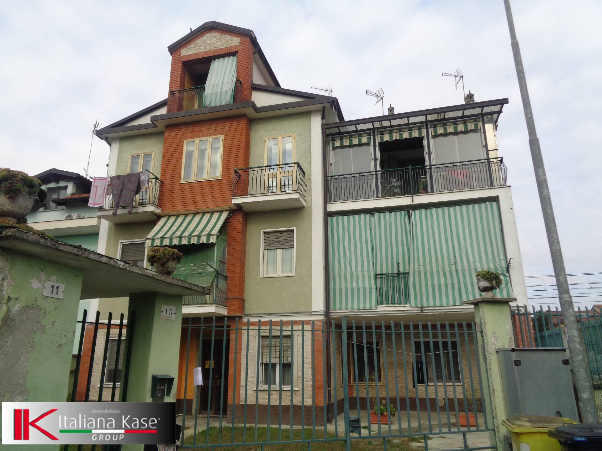 vendita appartamento brandizzo   119000 euro  4 locali  75 mq