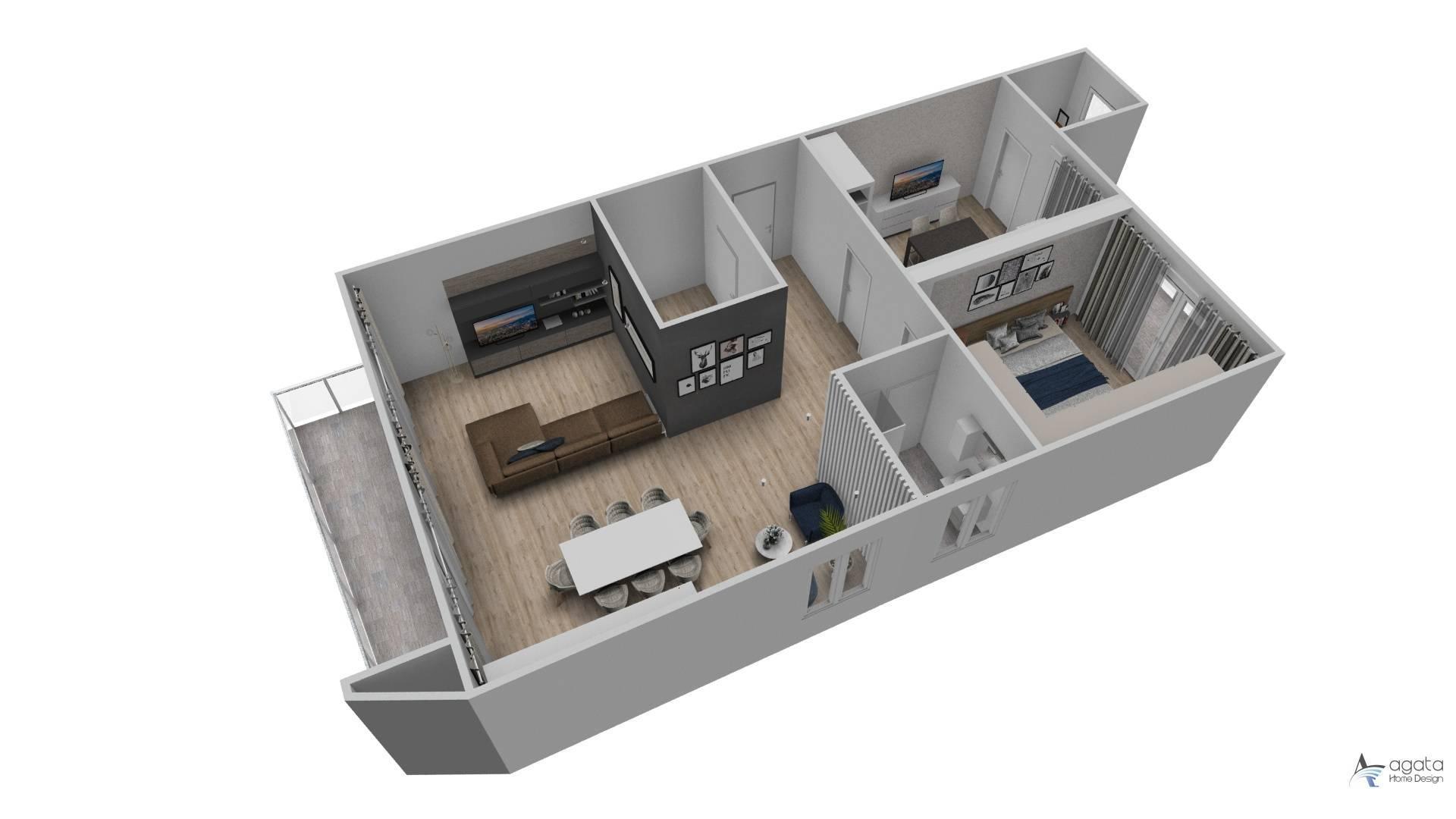 Appartamento in vendita a San Mauro Torinese, 4 locali, zona Località: S.Anna-Pescatori, prezzo € 159.000 | PortaleAgenzieImmobiliari.it